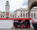 Custom gazebo for Mille Miglia - Siena