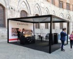 Custom gazebo for the Mille Miglia - Siena