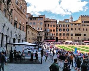 Gazebo canopy for 1000 Miglia - Siena