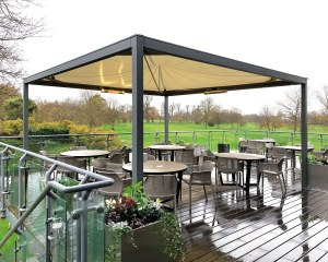 Bespoke gazebo for Roof Terrace