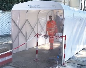 Sanitary Gate XL - Sanitizing tunnel