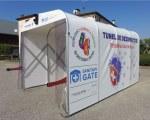 Sanitary Gate - Sanitizing tunnel