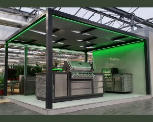 Kube patio canopy -  Mondo Verde Showroom