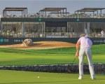 Outdoor canopy - sun shade for golf club
