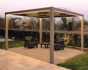 KUBE 120 - Shade canopy for garden