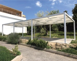 Free-standing canopy Kube - Teamservice