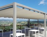 Retractable awning for Vama Tende Snc in Soci, Italy