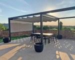 Retractable pergola for private house - Maranello