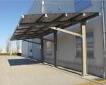 Solar carport Pensilsole Cantilever