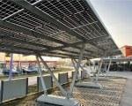 Solar carport Pensilsole – Enecon (Krems, Austria)