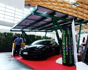 Solar carport - Key Energy