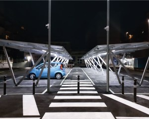 Solar carport Pensilsole