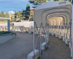 Covered walkway - Italtende Del Grande