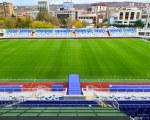 Football tunnel for the Kosovo national stadium Fadil Vokrri
