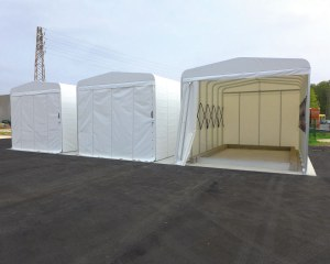 Industrial tent for Enel Distribuzione S.p.A.