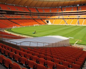 Football tunnel for Fifa Worldcup 2010 in South Africa