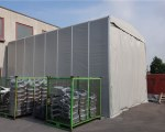Temporary warehouse for C.S. Fond in Verona