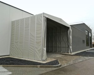 Industrial tent for Fornitek in San Giorgio di Piano (BO)