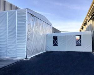 Retractable tunnel for Siat - Como