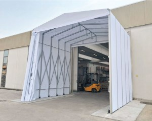Temporary warehouse for Eriplast S.p.a.