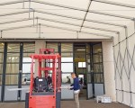 Temporary building for AF Technology Srl in Casumaro (FE), Italy