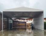 Temporary warehouse for Orlandi Lubrificanti Srl