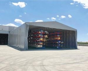 Temporary warehouse in Sant'Agostino - Ferrara