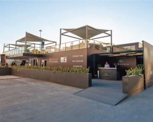 Sun shade sails Vela - ADIPEC 2019, Abu Dhabi