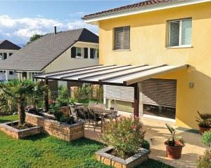 Private house - aluminium pergola