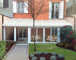 Private house - aluminium pergola