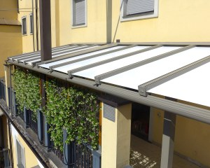 Aluminium pergola - Private house
