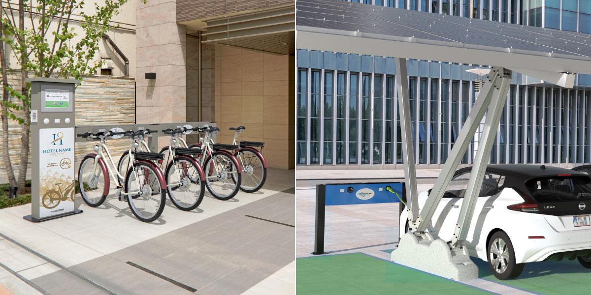 Stations de recharge pour véhicules électriques
