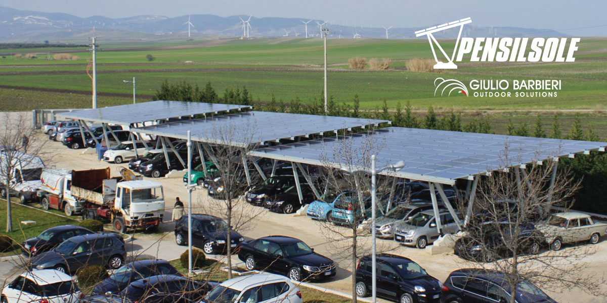 Pensilsole - Carport solaire