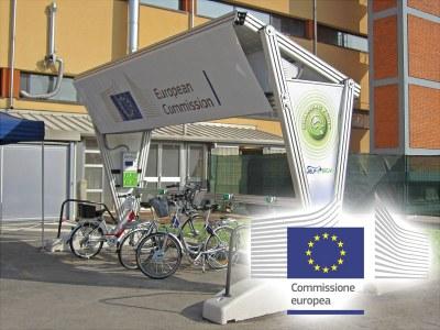 Europe - « Self Energy », la station de recharge photovoltaïque de Giulio Barbieri arrive 'au cœur' de l'Union européenne