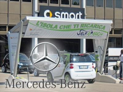 Italie - Mercedes-Benz a choisi la station de recharge pour les voitures électriques « Self-Energy »