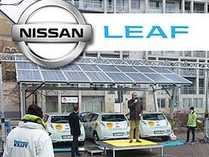 Suède - Giulio Barbieri S.r.l. & Nissan Leaf Promeuvent l'électromobilité