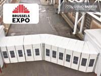 Tunnel de liaison pour le centre d'exposition de Bruxelles