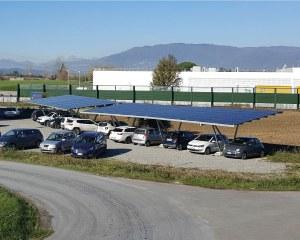 Carport solaire Pensilsole
