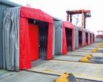 Tunnel rétractable à South Hampton aux USA