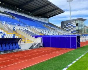 Football tunnel pour le stade national du Kosovo Fadil Vokrri