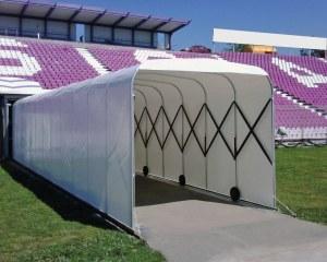 Tunnel d'accès au stade
