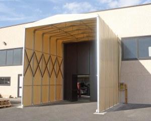 Couverture mobile industrielle pour Mary Fashion à Ferrara en Italie
