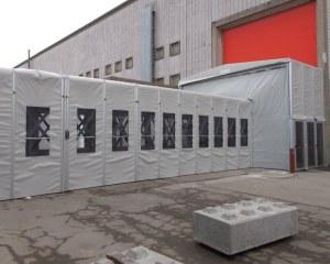 Passage couvert pour Brussels Expo