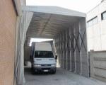 Tunnel de stockage pour Sartori Serramenti à Padoue en Italie