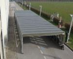 Tunnel rétractable pour la Aéronautique Militaire Italienne