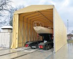 Tunnel de stockage pour Nusser Yachtbau à Offingen