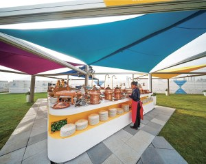 Voile d'ombrage Vela - Arena Middle East & Asia