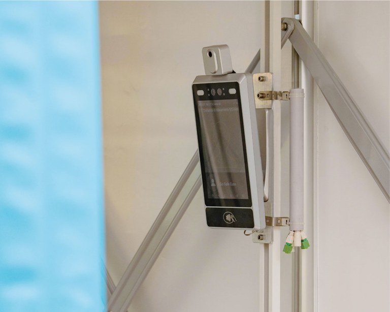 GO-SAFE GATE - Portail thermoscanner