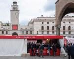 Gazebo personnalisé pour Mille Miglia - Siena