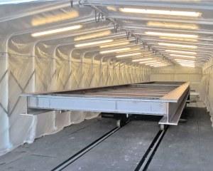 Passage couvert industriel pour Caspar 2CI